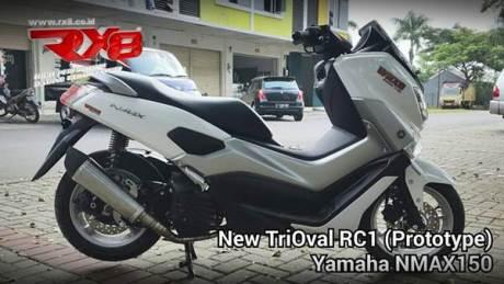 RX8 riset knalpot racing yamaha NMAX 155 006 Pertamax7.com