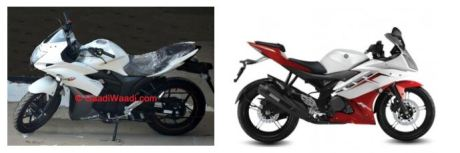 Suzuki Gixxer SF VS Yamaha R15 comparison 001pertamax7.com