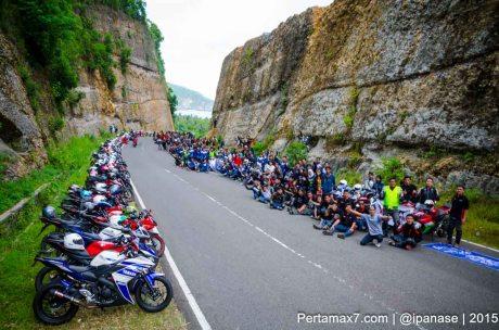 Touring Gabungan Yamaha R15 Sejatim dihadiri 200 Motor ke pantai soge Pacitan Pertamax7.com-25