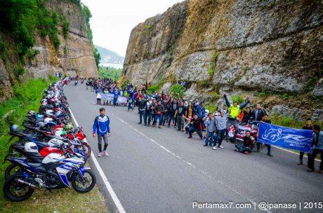 Touring Gabungan Yamaha R15 Sejatim dihadiri 200 Motor ke pantai soge Pacitan Pertamax7.com-28