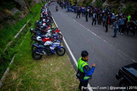 Touring Gabungan Yamaha R15 Sejatim dihadiri 200 Motor ke pantai soge Pacitan Pertamax7.com-33
