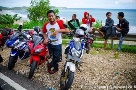 Touring Gabungan Yamaha R15 Sejatim dihadiri 200 Motor ke pantai soge Pacitan Pertamax7.com-72