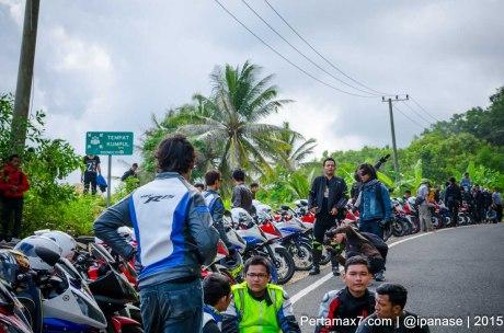 Touring Gabungan Yamaha R15 Sejatim dihadiri 200 Motor ke pantai soge Pacitan Pertamax7.com-85