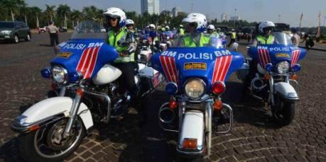 Voorrijder harley indonesia