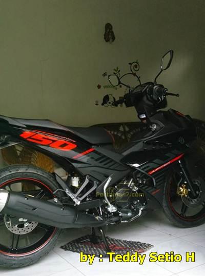 Yamaha Jupiter MX king 150 di rumah konsumen Jogja
