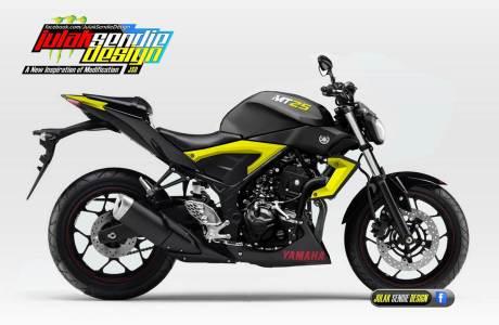 Yamaha MT25 Julak Sendie Render