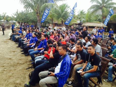 Yamaha Soul GT 125 Blue core resmi Meluncur di Indonesia 001
