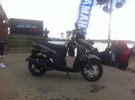 Yamaha Soul GT 125 Blue core resmi Meluncur di Indonesia 007