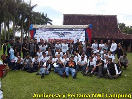 Anniversary Pertaa naked Wolves Indonesia Chapter Lampung 2015 Pulsar 200NS 000 Pertamax7.com