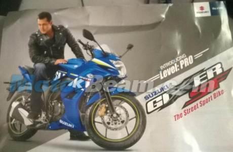 brochure Suzuki Gixxer SF 155 India