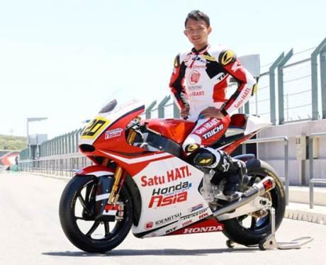 Dimas Ekky Siap Berkompetisi di Moto2 CEV Spanish