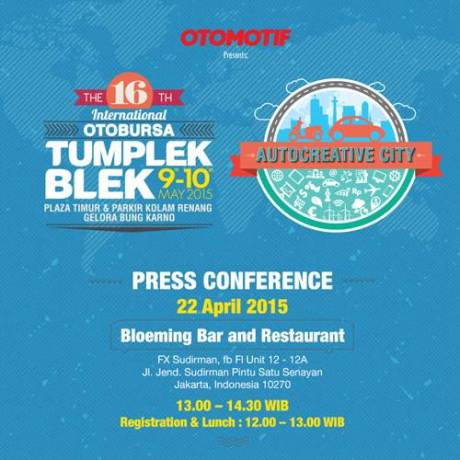 E-invitation - Konferensi Pers - 16th Otobursa Tumplek Blek pertamax7.com