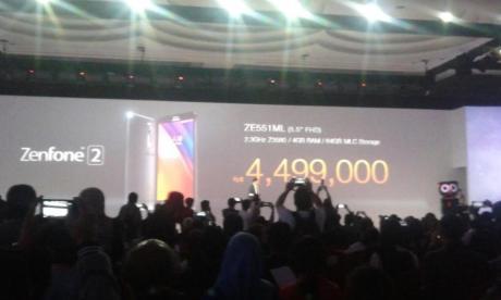 harga asus zenfone 2 ze551ml-ram 4GB rom 64 HGB