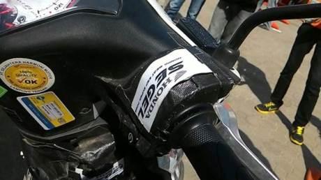 Honda beat injeksi di geber 40 hari nonstop di Lampung 01  Pertamax7.com