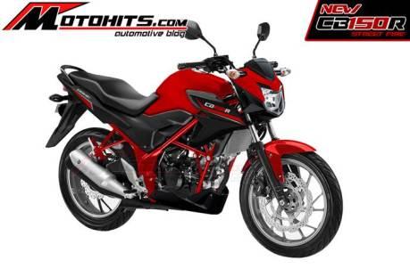 honda CB150R facelift 2015