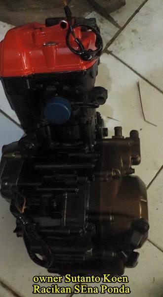 Honda CB150R silinder kop merah modif 172 cc sena ponda 00  Pertamax7.com