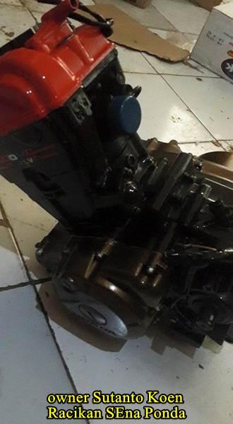 Honda CB150R silinder kop merah modif 172 cc sena ponda 01  Pertamax7.com