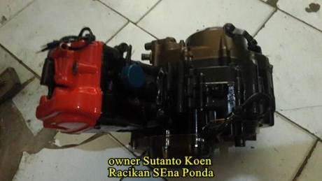 Honda CB150R silinder kop merah modif 172 cc sena ponda 04  Pertamax7.com