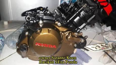 Honda CB150R silinder kop merah modif 172 cc sena ponda 08  Pertamax7.com
