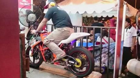 Honda CB150R spek IRS tembus 30,4 HP