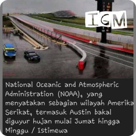 hujan deras bakal guyur motogp austin amerika 2015