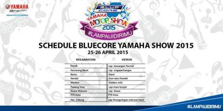 jadwal yamaha motorshow 25 april 2015