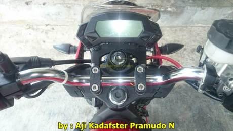 Kawasaki Ninja 250RR mono jadi naked lampu bulat 002 Pertamax7.com