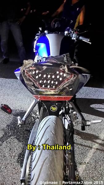 Kecelakaan yamaha R3 di Thailand 02  Pertamax7.com