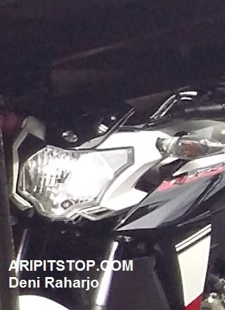 lampu depan yamaha new vixion facelift 2015