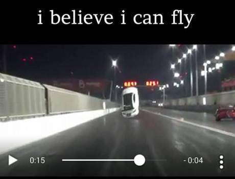 lexus drag terbang