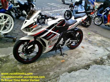 modifikasi yamaha new vixion pakai fairing yamaha r25 00  Pertamax7.com