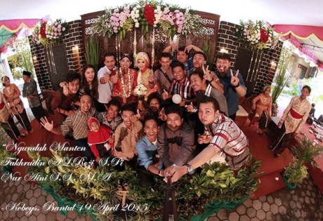 Menghadiri Pernikahan om Fakhrudin Al Rozi Suzuki FXR Rider Dulur Koboys Pengusaha Ikan Sukses, Selamat....