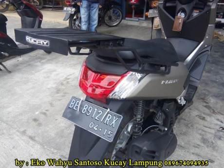 Pemasangan Braket Box Geser Kucay Lampung Yamaha Nmax 03  Pertamax7.com