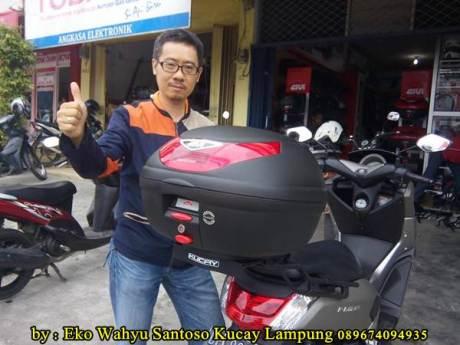 Pemasangan Braket Box Geser Kucay Lampung Yamaha Nmax 04  Pertamax7.com
