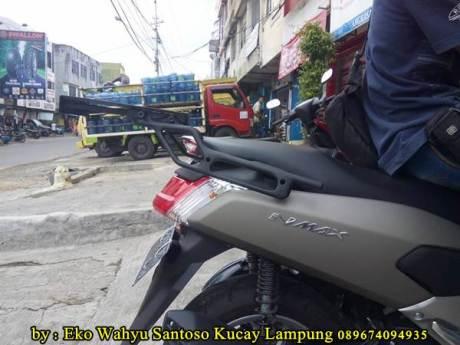 Pemasangan Braket Box Geser Kucay Lampung Yamaha Nmax 05  Pertamax7.com