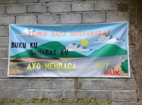 Solo Inazuma Club Berikan Bantuan Di Rumah Baca Uplik Sumowono, Semarang 02  Pertamax7.com