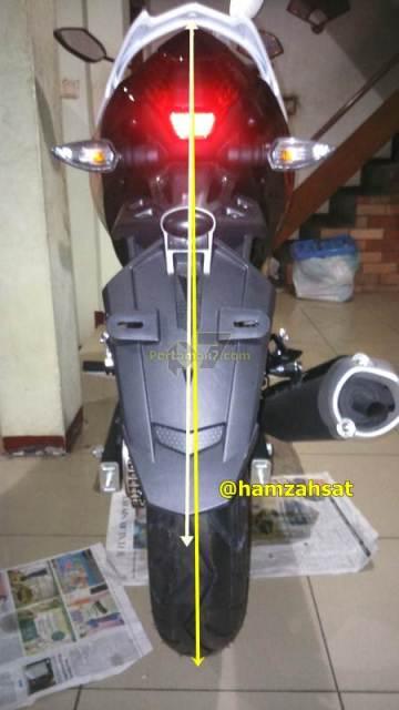 spakbor belakang yamaha jupiter mx king miring pertamax7.com jelas