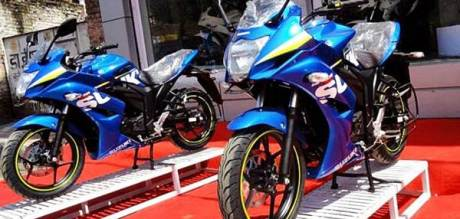 suzuki gixxer SF 155 India dealer