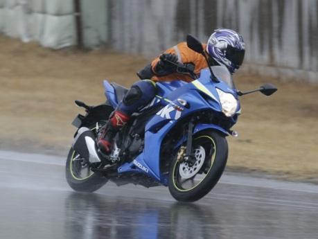 testride Suzuki Gixxer Sf 155 Tospeed 125 km per jam 001pertamax7.com