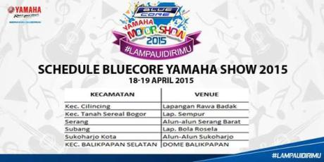 yamaha motor show 18 april 2015
