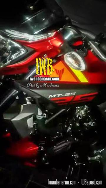 yamaha MT-25 Indonesia front view