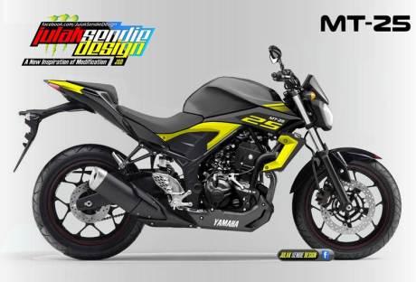 Yamaha MT-25 Indonesia julak sendie