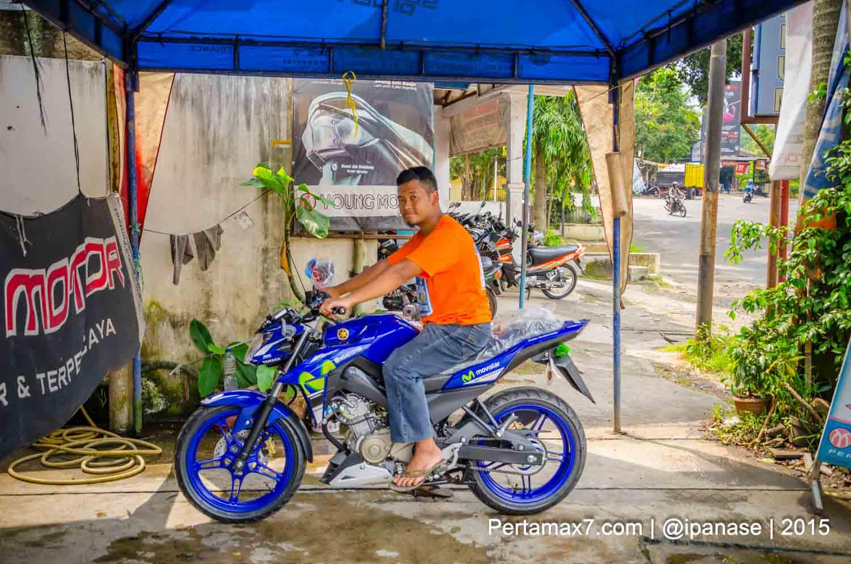 Bertemu Yamaha New Vixion Advance 2015 Special Edition Movistar All Cbr 150r Racing Red Salatiga Motogp Sudah Di Tangan Konsumen Jawa Tengah Mantabh