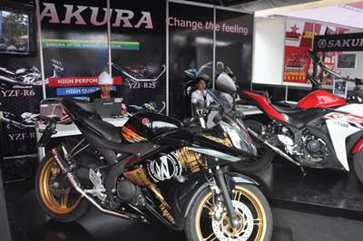 Booth Racing Kit Market di seri 1 Yamaha Cup Race di GOR Satria Purwokerto (2)