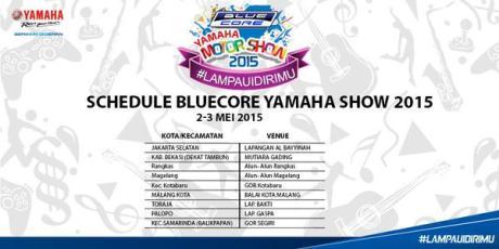 jadwal yamaha motorshow 2-3 mei 2015 serentak 9 kota