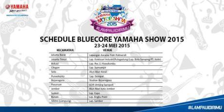 jadwal yamaha motorshow 23-24 mei 2015