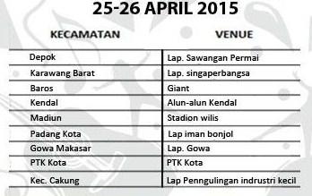 jadwal yamaha motorshow 25 april 2015 serentak 9 kota