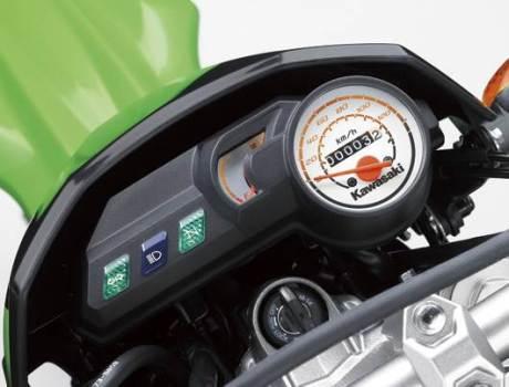 kawasaki new KLX 150 pakai meteran bensin