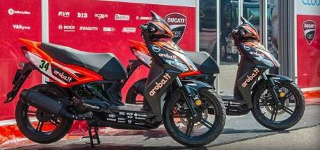Kymco Agility R16 50 4T + become official scooter supplier to Ducati Corse in 2015 MotoGP and Superbike World Championships 1