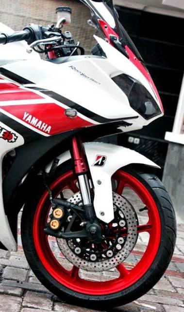 Modifikasi R25 Livery Yamaha Anniversary 50th, Pro Arm dan Upside Down Bikin Ganteng 05Pertamax7.com